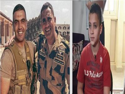 نجل الشهيد أحمد المنسي وأمير كرارة