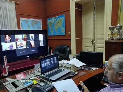 العامري فاروق : أمانة الهيئات الإستشارية تحقق التواصل مع كافة الأمانات النوعية
