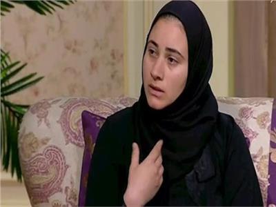 منار سليم أرملة الشهيد أحمد المنسى