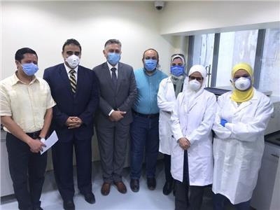 الفريق الطبي بجامعة عين شمس