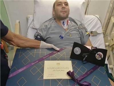 هدية الرئيس السيسي للطبيب محمود سامي