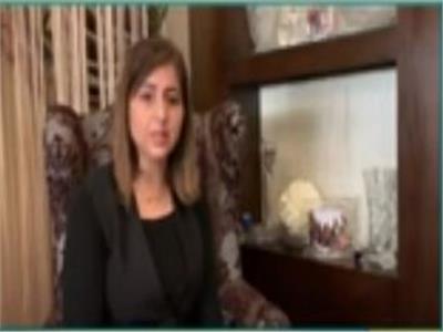 الدكتورة شيرين الجيار أرملة الشهيد هشام الساكت للأطباء