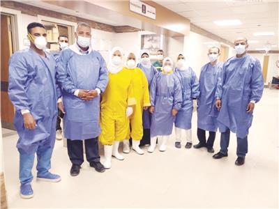 أطباء مصر من داخل أحد مستشفيات العزل