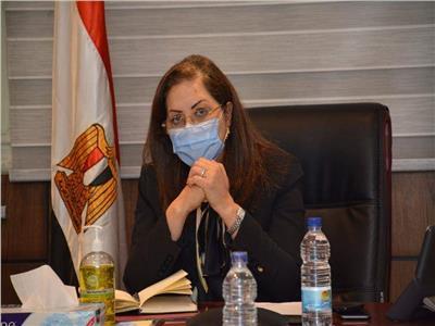د. هالة السعيد، وزيرة التخطيط والتنمية الاقتصادية