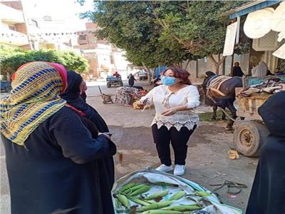 هناء عقيلة رئيس مركز ومدينة شبين الكوم بمحافظة المنوفية