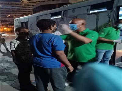 انقاذ طفلين بلامأوي والحاقهم بدور التربية بالجيزة
