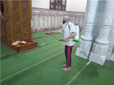 استعدادات المساجد لفتح أبوابها أمام المصلين