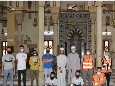 صورة من أحد المساجد