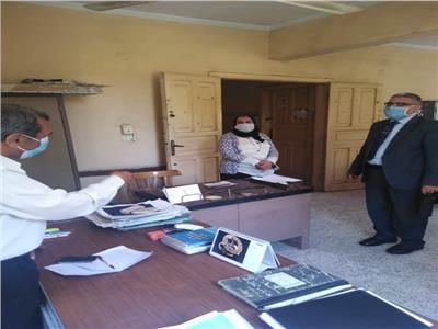 وكيل وزارة التضامن الإجتماعى بالقليوبية يتابع سير العمل بالادارة الاجتماعية