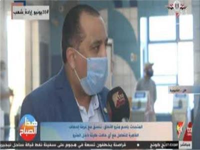 أحمد عبد الهادي متحدث مترو الأنفاق