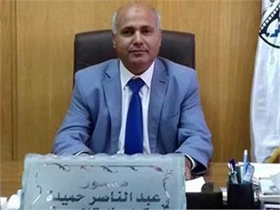 الدكتور عبد الناصر حميدة، وكيل وزارة الصحة في محافظة الغربية