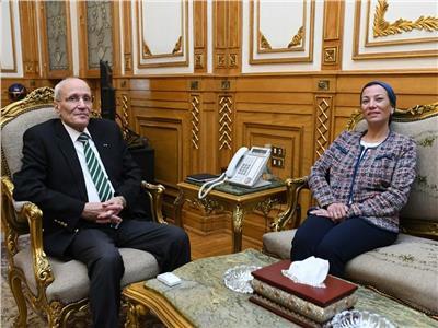 الفريق محمد سعيد العصار وزير الدولة للانتاج الحربي