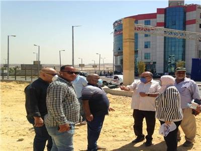نائب محافظ القاهرة تتفقد المشروعات التنموية بالاسمرات
