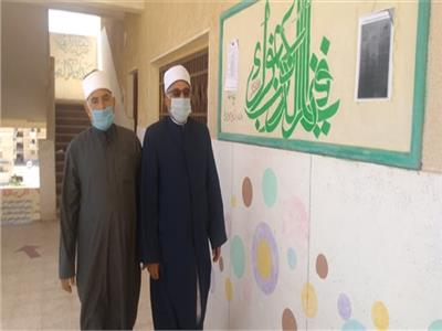 الشيخ محسن أبو القاسم مدير عام المنطقة الأزهرية بمحافظة شمال سيناء
