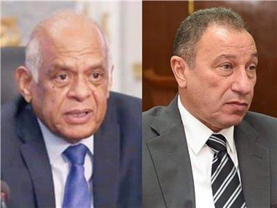 الكابتن محمود الخطيب ورئيس مجلس النواب