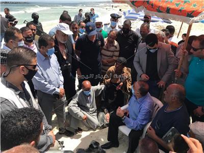 محافظ الإسكندرية يستجيب لأهل الغريق الأخير بحشد المنقذين لانتشال جثمانه