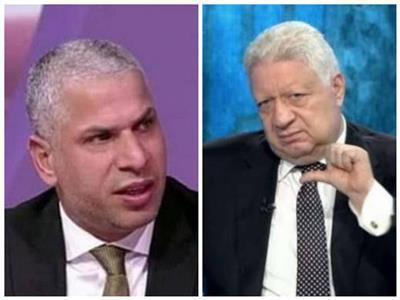 مرتضى منصور  و وائل جمعة