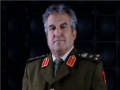 العميد خالد المحجوب مدير إدارة التوجيه المعنوي بالجيش الوطني الليبي