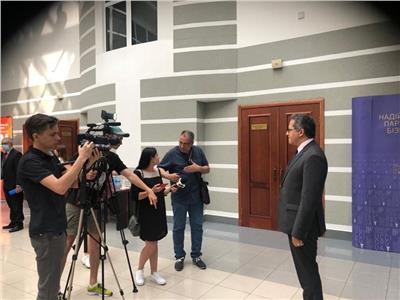 وزير السياحة والآثار يختتم زيارته لأوكرانيا بعقد لقاءات إعلامية