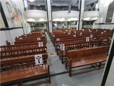 فتح كنائس إيبارشية نجع حمادي