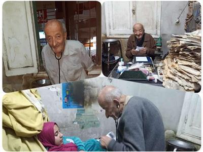 لقطات متنوعة للدكتور محمد مشالي في عيادته