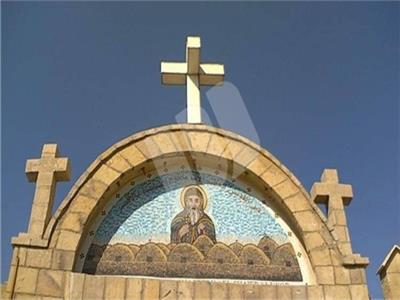 دير القديس الأنبا باخوميوس الشايب بمحافظة الأقصر