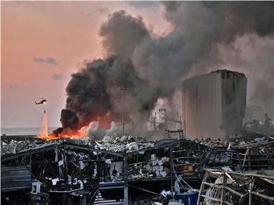 انفجار بيروت - صورة من رويترز