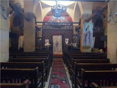 كنيسة العذراء مسطرد