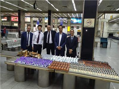 جمارك مطار القاهرة