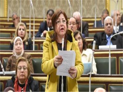 النائبة فايقة فهيم، عضو مجلس النواب