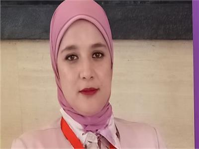 إيمان طلعت عضو تنسيقية شباب الأحزاب والسياسيين