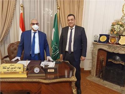 مصطفى شحاتة، عضو الهيئة العليا لحزب الوفد