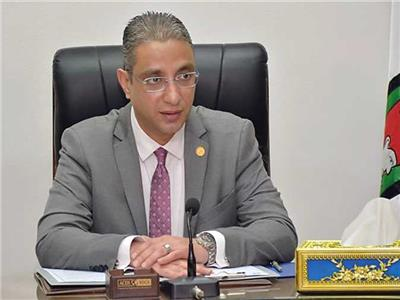 د احمد الأنصاري محافظ الفيوم