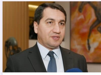 حكمت حاجييف مساعد رئيس جمهورية اذربيجان