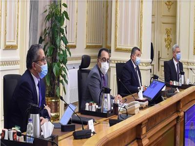 الدكتور مصطفى مدبولي خلال الاجتماع