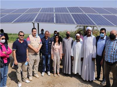 جانب من جولة وزيرة التعاون الدولي د. رانيا المشاط بالأقصر