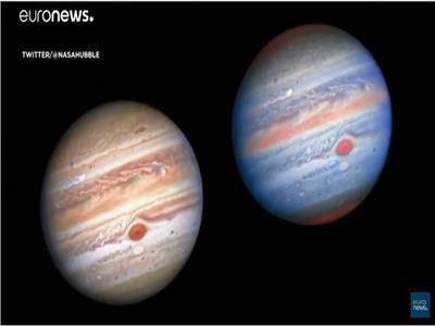 « ناسا » تلتقط صوراً جديدة للعواصف على سطح كوكب « المشتري»