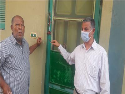 غلق وتشميع عيادة طبيب جراحة الفرخة ليسكي بالبحر الأحمر