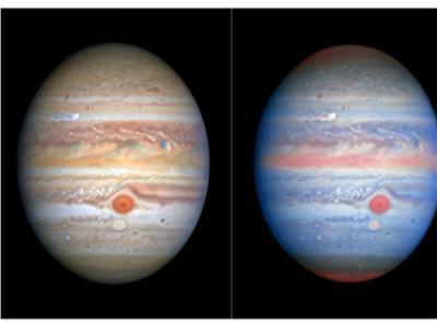صور مذهلة تكشف عن عاصفة جديدة على أكبر كوكب في النظام الشمسي