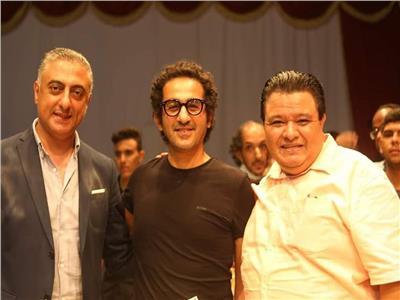 خالد جلال يُكرم أحمد حلمي في «سينما مصر»