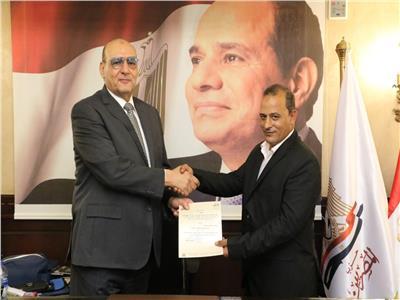 حسين طايع أمينًا عامًا لحزب المصريين بمحافظة الأقصر