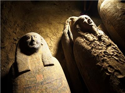 الكشف الأثري بسقارة