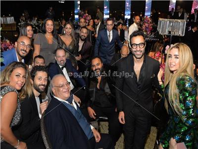 حفل زفاف شريف منير حسن