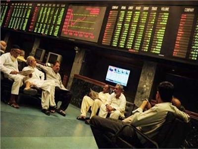بورصة كراتشي - صورة أرشيفية