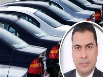المستشار أسامة أبوالمجد، رئيس رابطة تجار السيارات في مصر