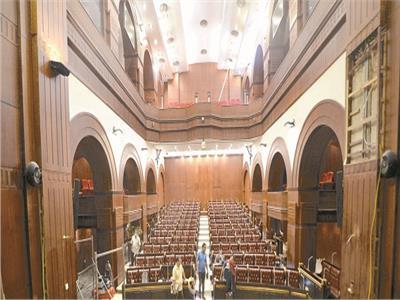 قاعة مجلس الشيوخ- تصوير: محمد الوشاحي