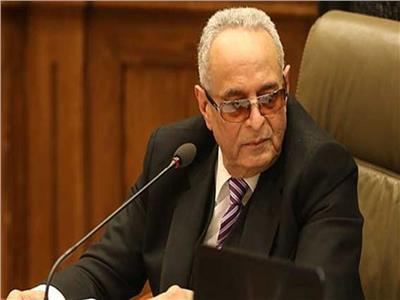 المستشار بهاء أبو شقة وكيل مجلس الشيوخ