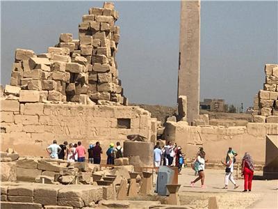 توافد السياحعلى المناطق الأثرية المصرية