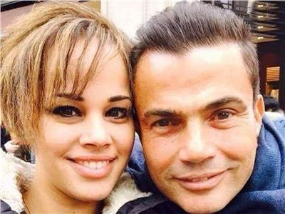 نور عمرو دياب ووالدها