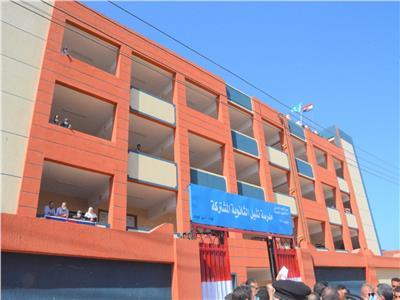 افتتاح مدرسة جديدة بالغربية
